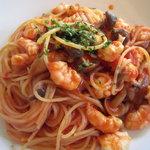 ブリオファクトリー - 海老のトマトスパゲティ