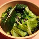 日本焼肉 はせ川 - お薦め!早採り野菜のはせ川サラダ 1200円