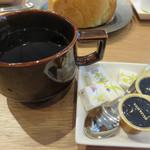 薬院マルシェ - セットのコーヒー。