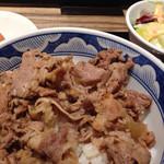 肉匠 太平楽 - 牛丼セット(950円)