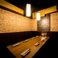 会社宴会などの団体にも対応できる個室を多数ご用意!
