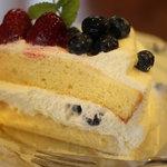 季まぐれMAX - ベリーのショートケーキ