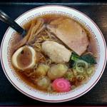 恵庭 おとん食堂 - 小鳩らーめん(600円)