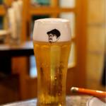 petit comptoir - ・生ビール 480円×2