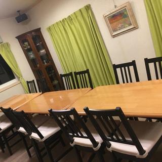 団体様でのご利用など2階席の貸切も対応致します。