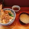 天婦羅 あぶら屋 - 料理写真:大海老天丼