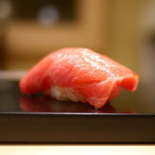 鮨 なんば - 料理写真:中トロ