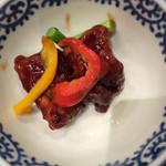 上海柿安 - 黒酢の酢豚