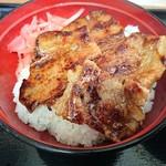 どん亭 - 豚バラ肉をカリカリに