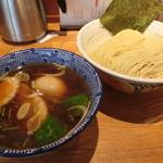 神田 勝本 - 味玉清湯(しょうゆ)つけそば930円