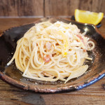 ネマルカフェ - ツナのトマトクリームスパゲティ(950円)