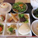 中国厨房ジャーチャン - 春の飲茶ランチ¥1480
