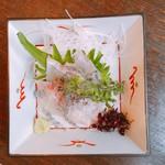 よしむら - 鯛の刺身