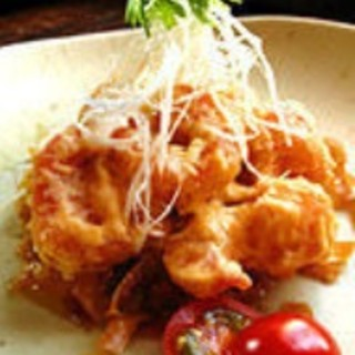 和洋折衷の創作料理をどうぞ!