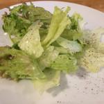 フレイズ フェイマス ピッツェリア - ランチについてくるサラダ