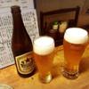 旬鮮味処 かつら - ドリンク写真:瓶ビールと生ビールで乾杯♪