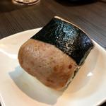 柳麺 呉田 - 「スパムおむすび」200円