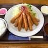キッチン よろずや - 料理写真:エビフライデラックス定食