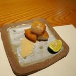こふく - タイラ貝の揚げ物