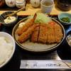 冨岳 - 料理写真:エビ・ヒレ定食
