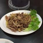 中華料理紅蘭 - 親モモ炒め