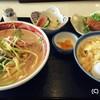小倉飯店 - 料理写真:2017.3 ちゃんぽんセット 810円