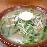 味の一番 - サッポロ味噌ラーメン750円