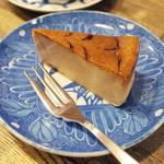 すみだ珈琲 - 珈琲を使ったモカチーズケーキ(420円)