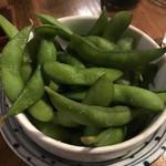 やきとん すずき - 枝豆