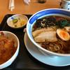 里味 - 料理写真:らーめんセット