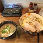 麺や拓 - 濃厚味玉つけ麺  大(250g)