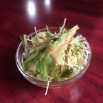 ミヤギディ レストラン - セットのサラダ
