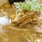 魂麺  - メンマ