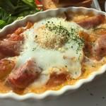 64804539 - 6種類野菜とタマゴのオーブン焼きです。
