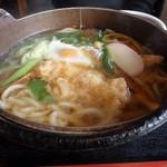 武蔵手打そば - 料理写真:鍋焼きうどん