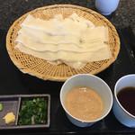 五代目 花山うどん - ざる二味 大盛り 1,000円