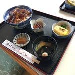 うな錦 - 料理写真:上丼 ごはん大盛り(税別2580円)