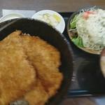 とんかつ政ちゃん - 並かつ サラダセット