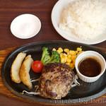 ハンバーグ・ステーキ宮崎亭 - ハンバーグ