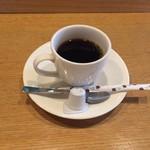 お食事処とりいち - サービスのホットコーヒー