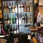 酒とひもの 人情酒場 - 本格的日本酒冷蔵庫