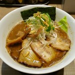 ガガナ ラーメン - GAGANAらーめん 830円