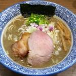 煮干しつけ麺 宮元 - 極上濃厚煮干しそば 780円