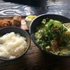 京亀 - 料理写真:ホルモンラーメン唐揚げセット