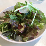 CAFEくるみ - セルフサービスのサラダ