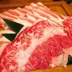 六献 - しゃぶしゃぶのお肉♪