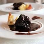 64873504 - 牛ホホ肉の赤ワイン煮込み ブッフブルギニヨン