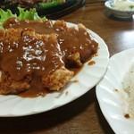 むさし - 料理写真:ビフカツW 1900円