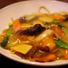 上海四川料理 廣安 - 料理写真:五目あんかけ焼きそば