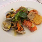 ル・プラ・プリュ - 料理写真:前菜7種盛り